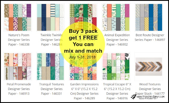 Stampin'Up! Designer Series Special Tip Video to cut Designer paper