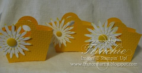 Basket with Daisies.