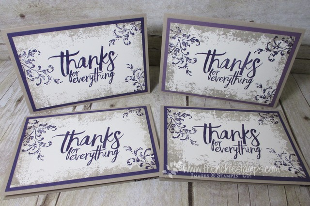 Elegant Thank YOU card All Things Thanks