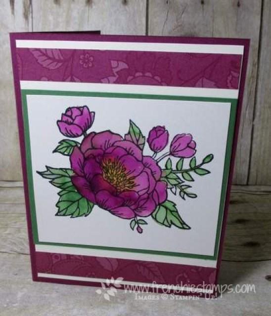 Pop Up Book Card Birthday Blooms