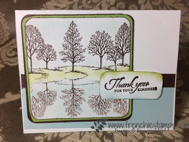 Shadow Lovely as a Tree, Stampin'Up!