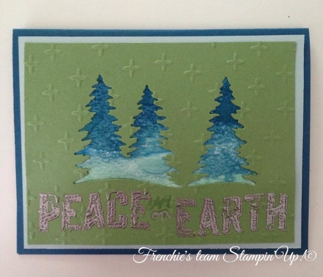 Frenchie's Team with Carole of Christmas and Card Front Builder Part 2