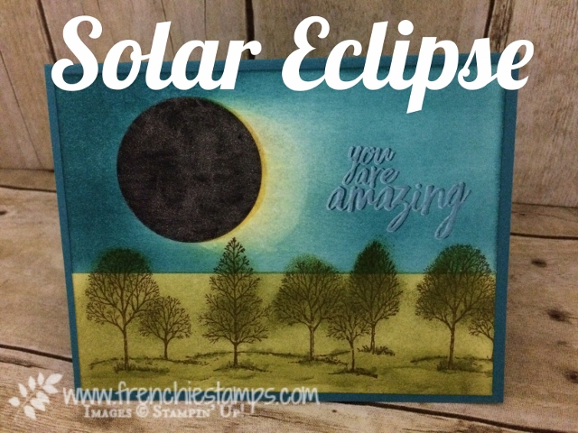 Solar Eclipse in Frenchie's Craft Room