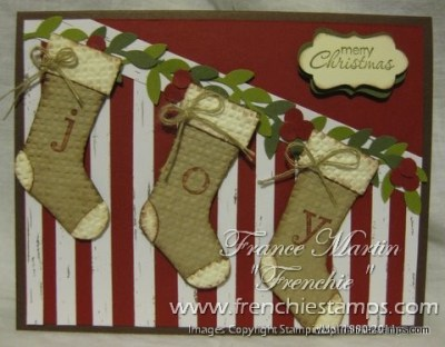 Staircase for Stampin'Up! Stocking Punch. Video