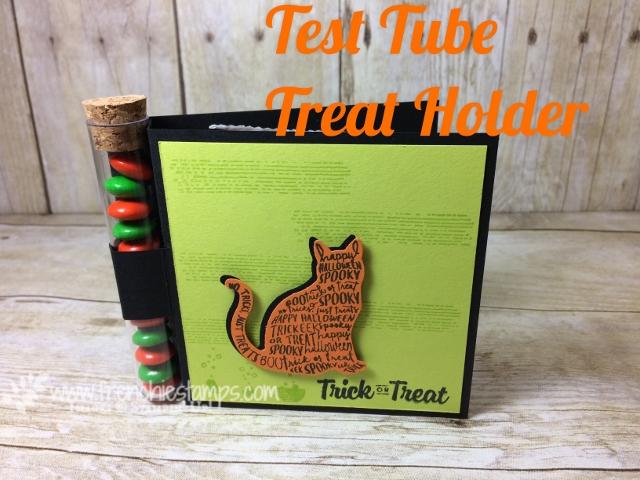 Test Tube Holder for Halloween