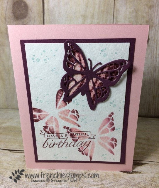 You Move Me, Move Me thinlits, Watercolor, Frenchie's Live, Stampin'Up!