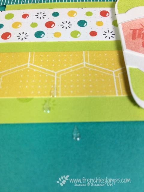 Bubble Over, Bottles and Bubbles Framelits, Bubbles & Fizz Designer paper,Glitter & Clear Epoxy Shapes,