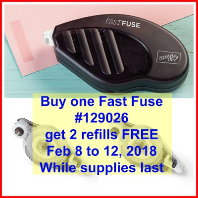 Fast Fuse Special, Stampin'Up!