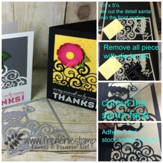 Detailed Santa Framelis for every Day, One Big Meaning, Stampin'Up!