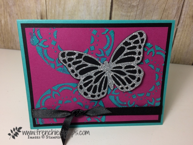 Eastern Palace Mask, Bold butterfly, Butterflies thinlits, Make your own Stencil