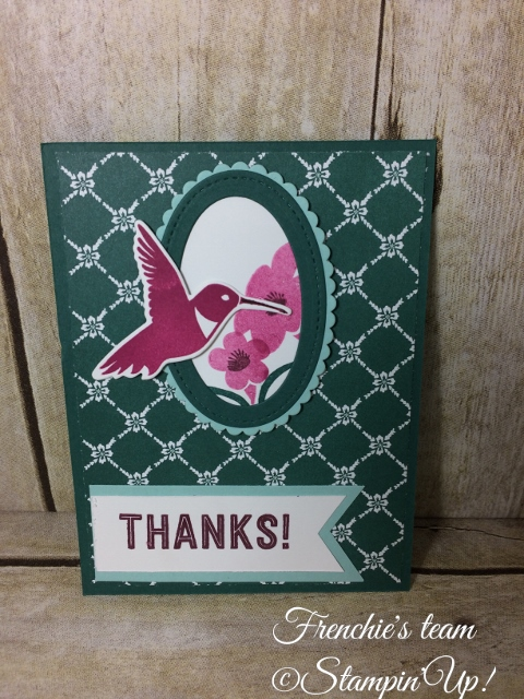You Move Me, Stampin'Up!
