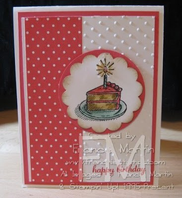 Stampin'Up! Sketched Birthday