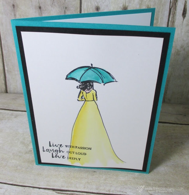 Beautiful You, One size fit all, Stampin'Up! Frenchiestamps