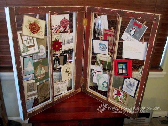 Old window to display cards