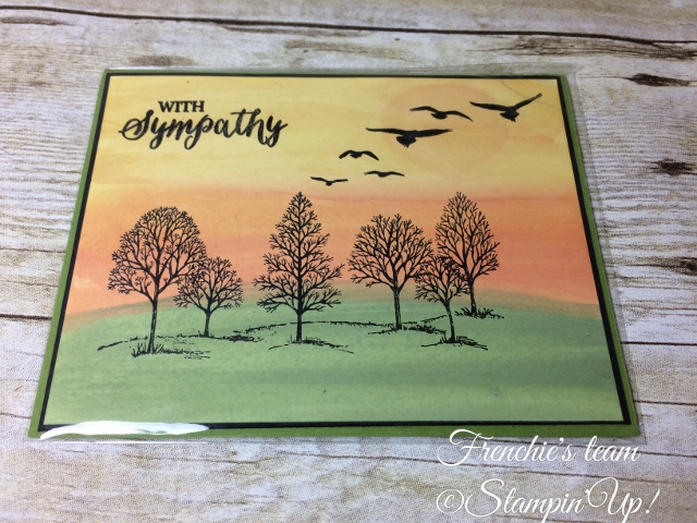 Glossy Paper, Lovely as a Tree, Stampin'Up!