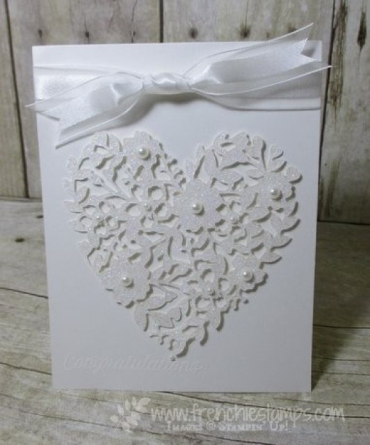 Pure White Bloomin' Heart