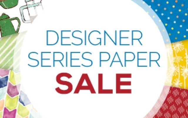 Stampin'Up! Designer Paper on sales