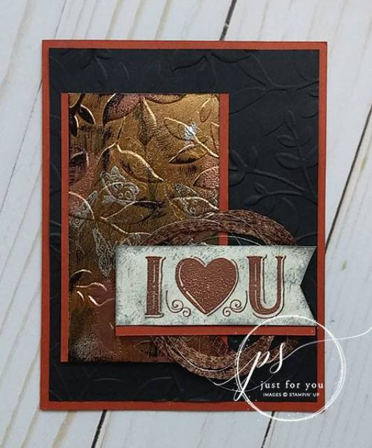 Stampin'Up! Great Big Greeting, Tarnish Foil, frenchiestamps