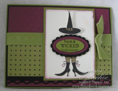 Stamping 411 with the Wicked