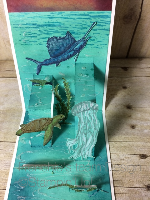 From Land to Sea, stampin'Up!