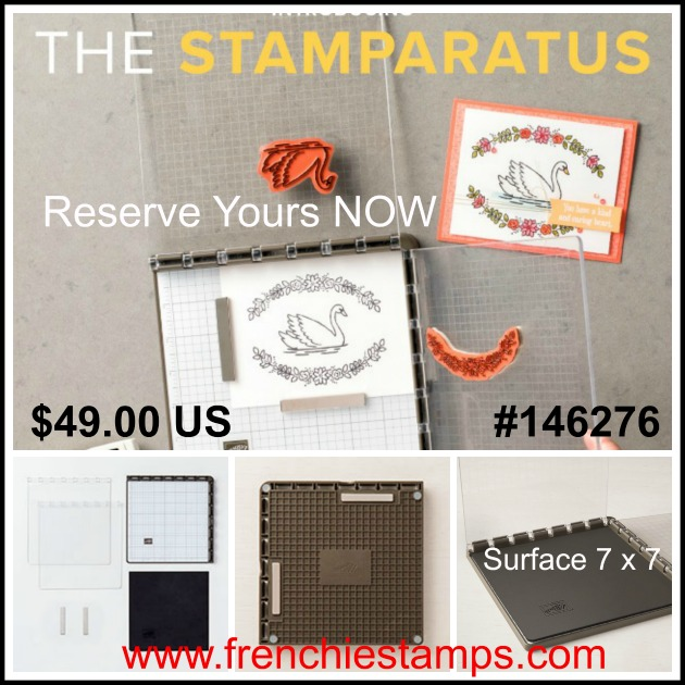 Stampin'Up! Stamparatus, Stamp position
