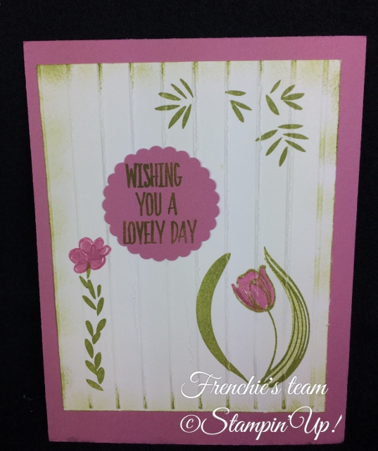 Lovely Wishes, Sale a Bration and Occasion Stampin'Up! 2018, Frenchie stamps in the Spotlight,