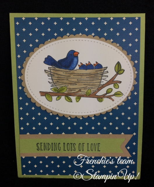 Flying Home, Sale a Bration and Occasion Stampin'Up! 2018, Frenchie stamps in the Spotlight,