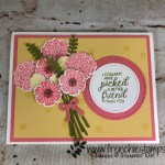 Beautiful Bouquet, Stamparatus, Bouquet Bunch Framelits , Color Chart, Frenchie Stamps, Stampin