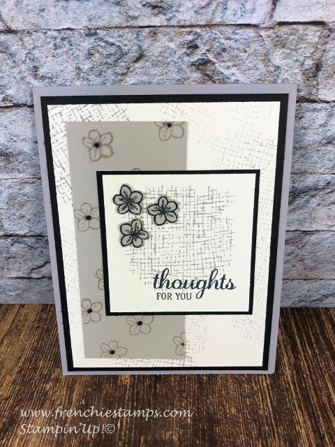 simple card with best best stamp set. All product from Stampin'Up! can can be purchase from frenchiestamps.com