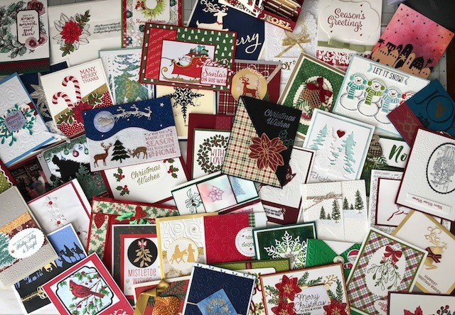 Christmas Cards in the mail. Thank YOU all