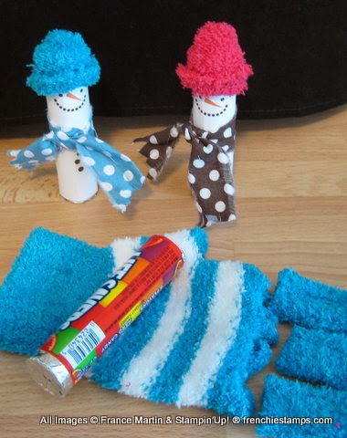 Snowman Life Saver. Stocking Suffer. Frenchiestamps.com