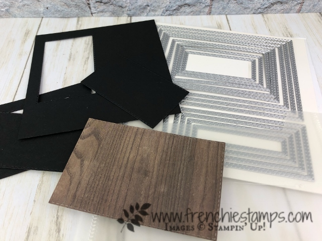 Tips for the Stitched Rectangle Framelits. The bad and the good.  All products by Stampin'Up! avaialbel at frenchiestamps.com