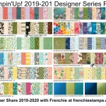Designer Series Paper from the 2019-2010 Stampin