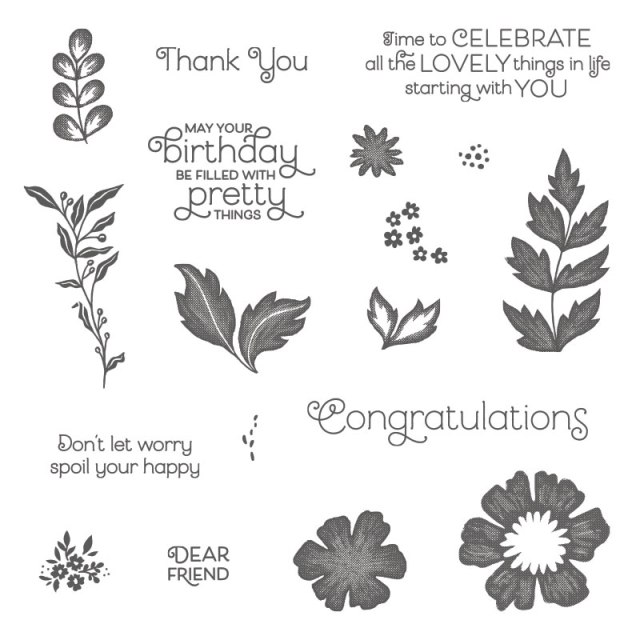 Everything is Rosy exclusive kit Bundle by Stampin'Up! available at Frenchiestamps.com