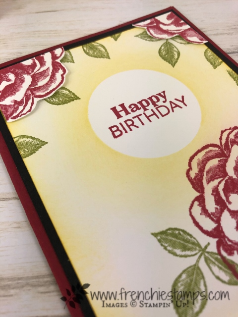 """April 2019 Stampin""""Up! Paper Pumpkin. Extra inspiration to use the stamp set included in April Paper Pumpkin. Subscribe for Paper Pumpkin at frenchiestamps.com"""