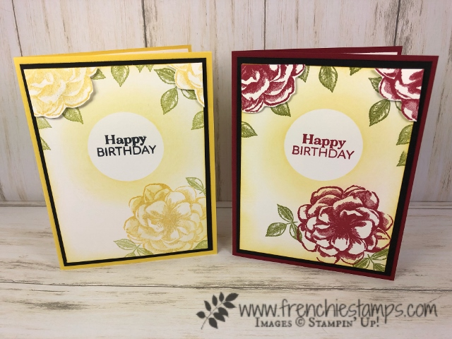"April 2019 Stampin""Up! Paper Pumpkin. Extra inspiration to use the stamp set included in April Paper Pumpkin. Subscribe for Paper Pumpkin at frenchiestamps.com"