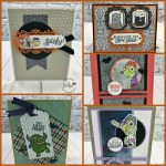Halloween Card Showcase at Frenchie stamps.