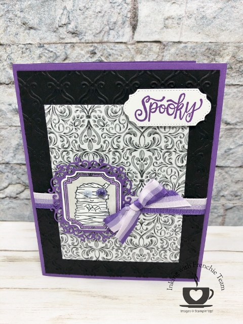 Spooktacular Bash Halloween card created by Frenchie' Team
