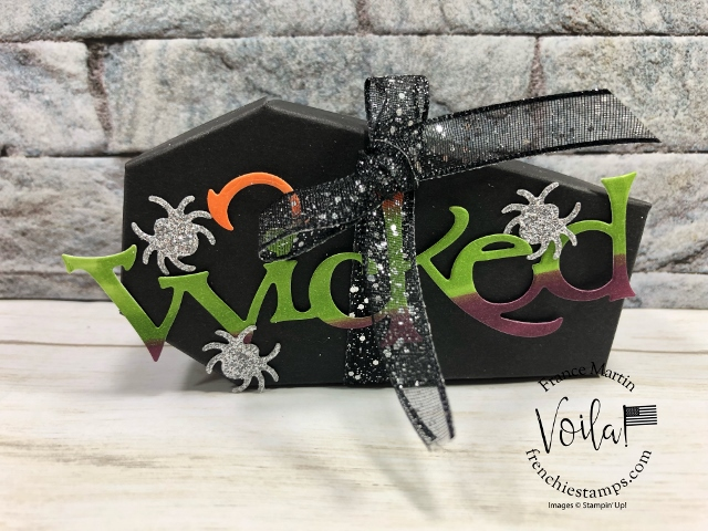 Halloween Wicked Coffin Treat Boxes