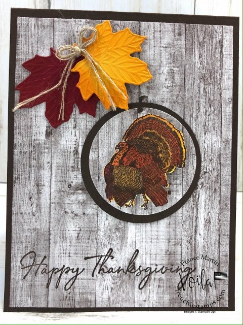 Day of Thanks for Thanksgiving card.