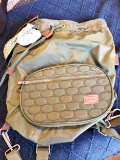 Back Pack puuse 20.00
