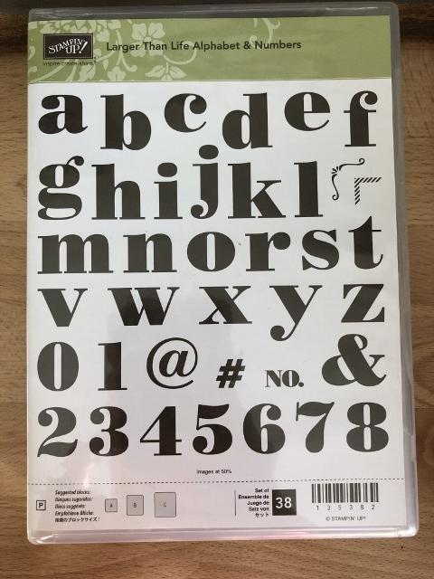 Larger Than Life Alphabet & Number