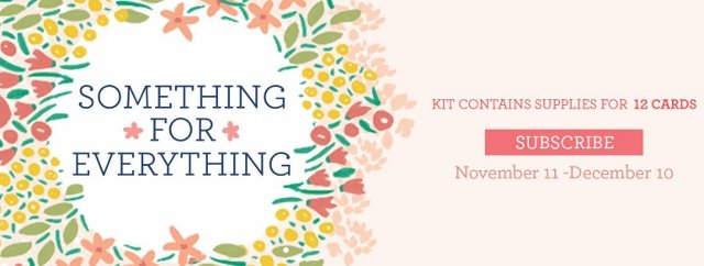 Something for Everything with December 2019 Paper Pumpkin by Stampin'Up!.