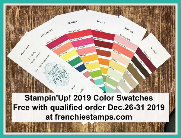 Stampin'Up! Color Swatches