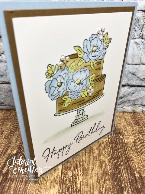 Sale a Bration stamp set, Happy Birthday to You.
