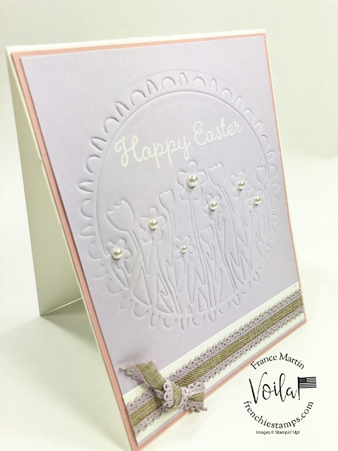 New release coordination product by Stampin'Up! February 4th 2020. Coordination Sending Flowers Dies and emboss.