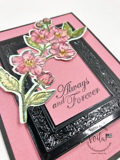 Forever Blossoms Frame Card