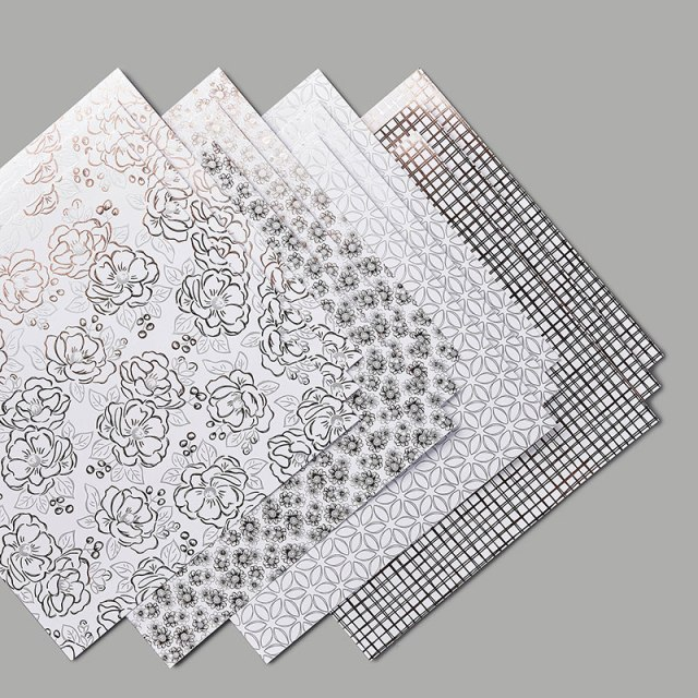 2nd release of products for Sale a Bration rewards. Flowering Foils Designer paper