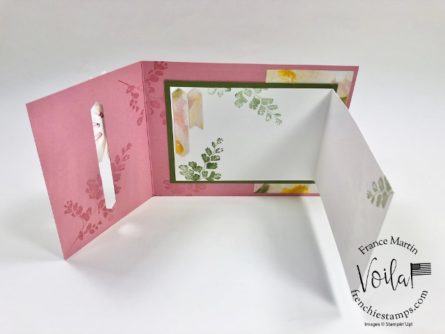 One Sheet Wonder with Fun Fold live class with Holly and Frenchie. With one sheet of Perennial Essence Designer Paper I will share how to make 6 fun fold card.