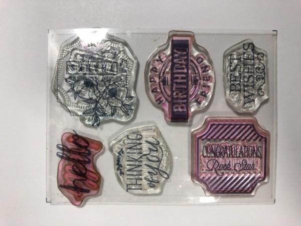 Darling Stamp Set